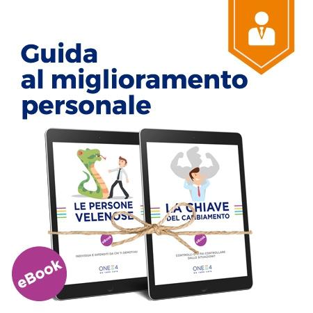 Guida al miglioramento personale con gli ebook ONE4