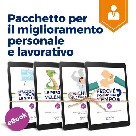 Pacchetto per il miglioramento personale e lavorativo - ebook di ONE4