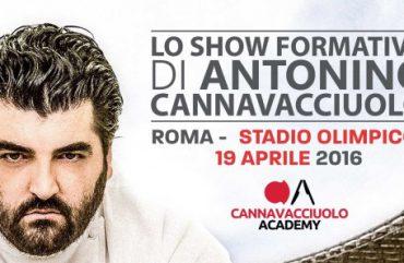 Lo Show Formativo di Antonino Cannavacciuolo all'Olimpico