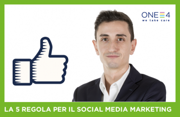La quinta di cinque regole per il Social Media Marketing