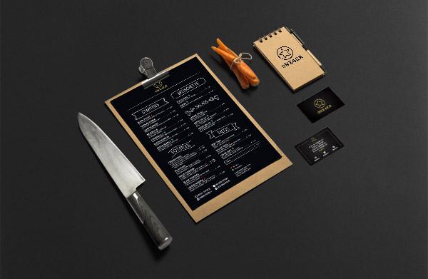 Immagine coordinata per ristoranti